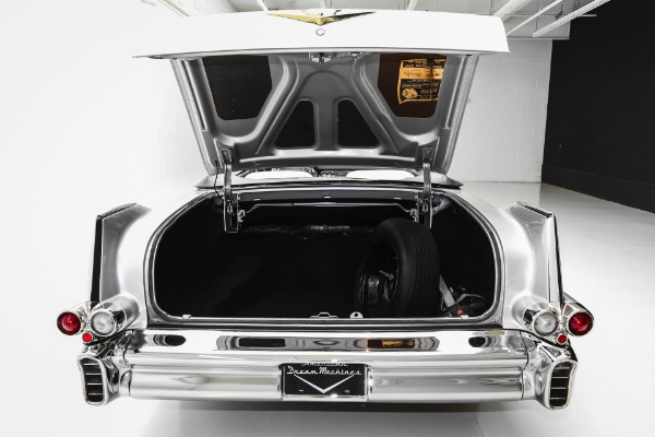 For Sale Used 1957 Cadillac Series 62 Silver, Stunning Car! | American Dream Machines Des Moines IA 50309