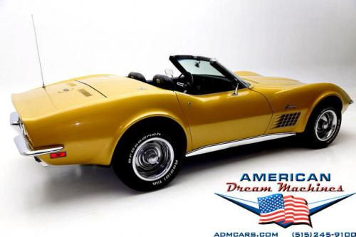 For Sale Used 1971 Chevrolet Corvette convertible convertible | American Dream Machines Des Moines IA 50309