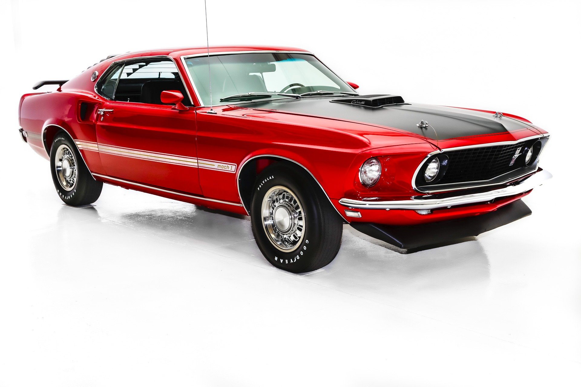 1969 ford mustang mach1 r code 428 manual a c
