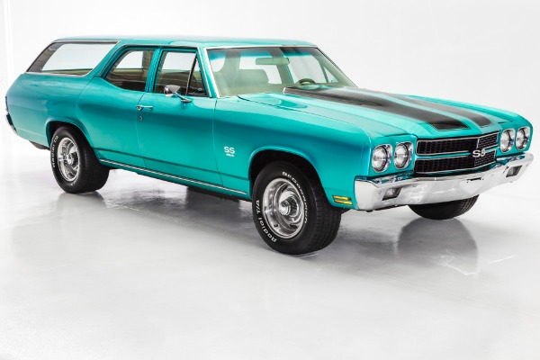 For Sale Used 1970 Chevrolet Chevelle Wagon Magazine Car | American Dream Machines Des Moines IA 50309