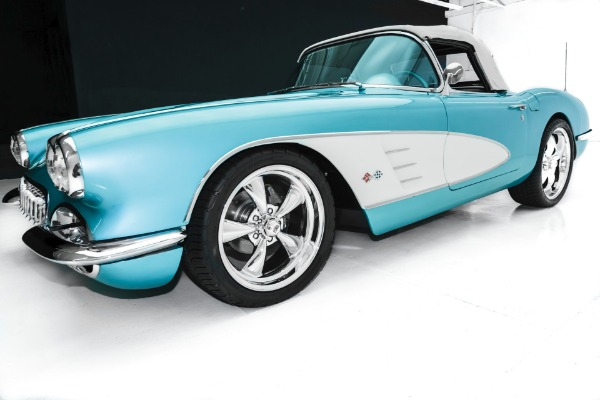 For Sale Used 1958 Chevrolet Corvette Pro-Tour 383 4-Speed AC | American Dream Machines Des Moines IA 50309