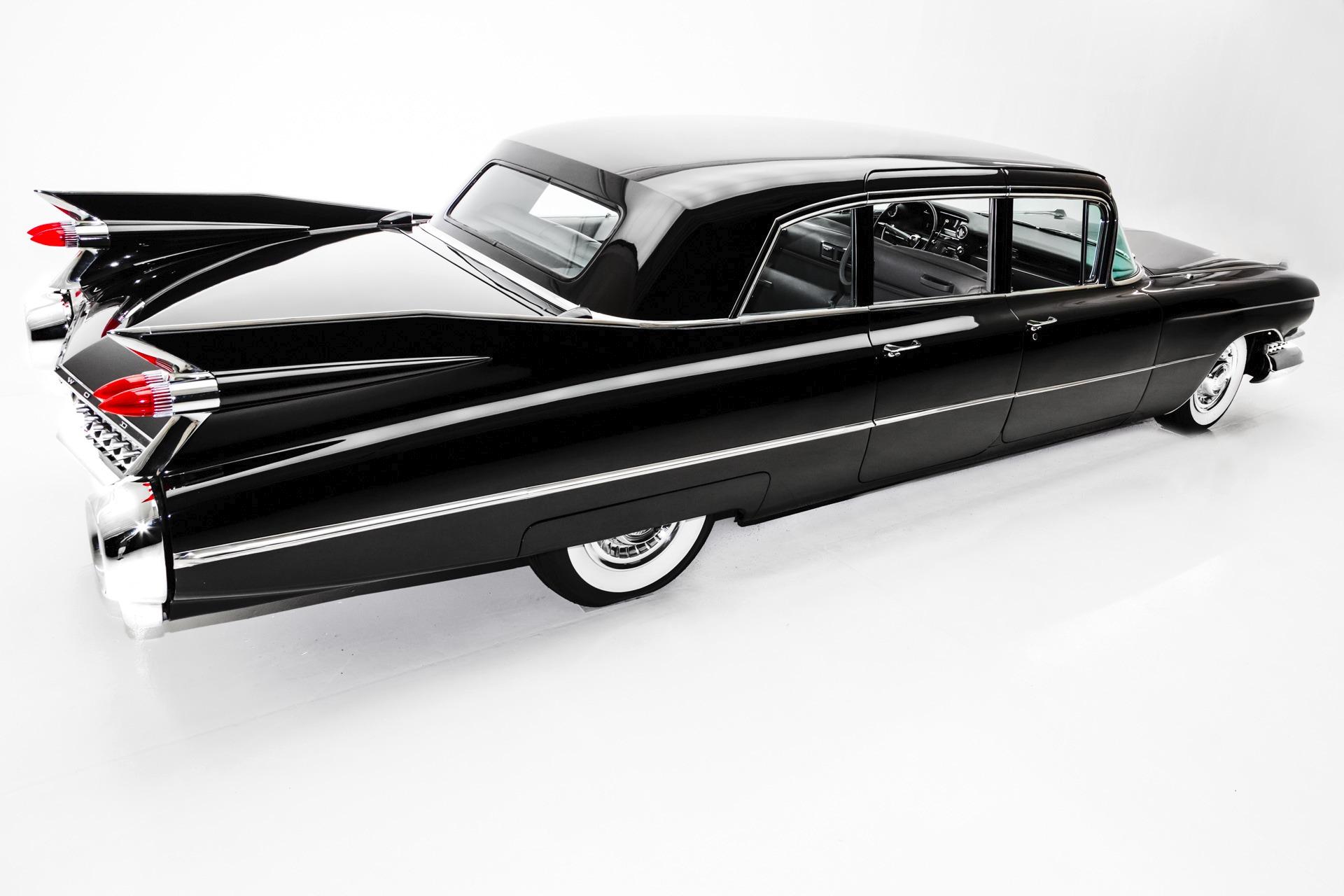 1959 Cadillac Fleetwood Limousine RARE Leather - American Dream ...