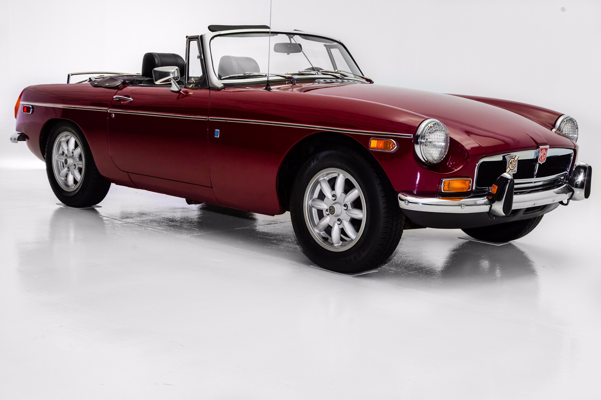 1974 MG MGB Burgundy, Chrome Bumpers, British Sports Car (WHOLESALE ...