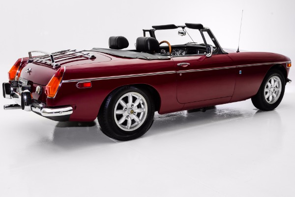 For Sale Used 1974 MG MGB Burgundy, Chrome Bumpers, British Sports Car (WHOLESALE CLEARANCE PRICED) | American Dream Machines Des Moines IA 50309