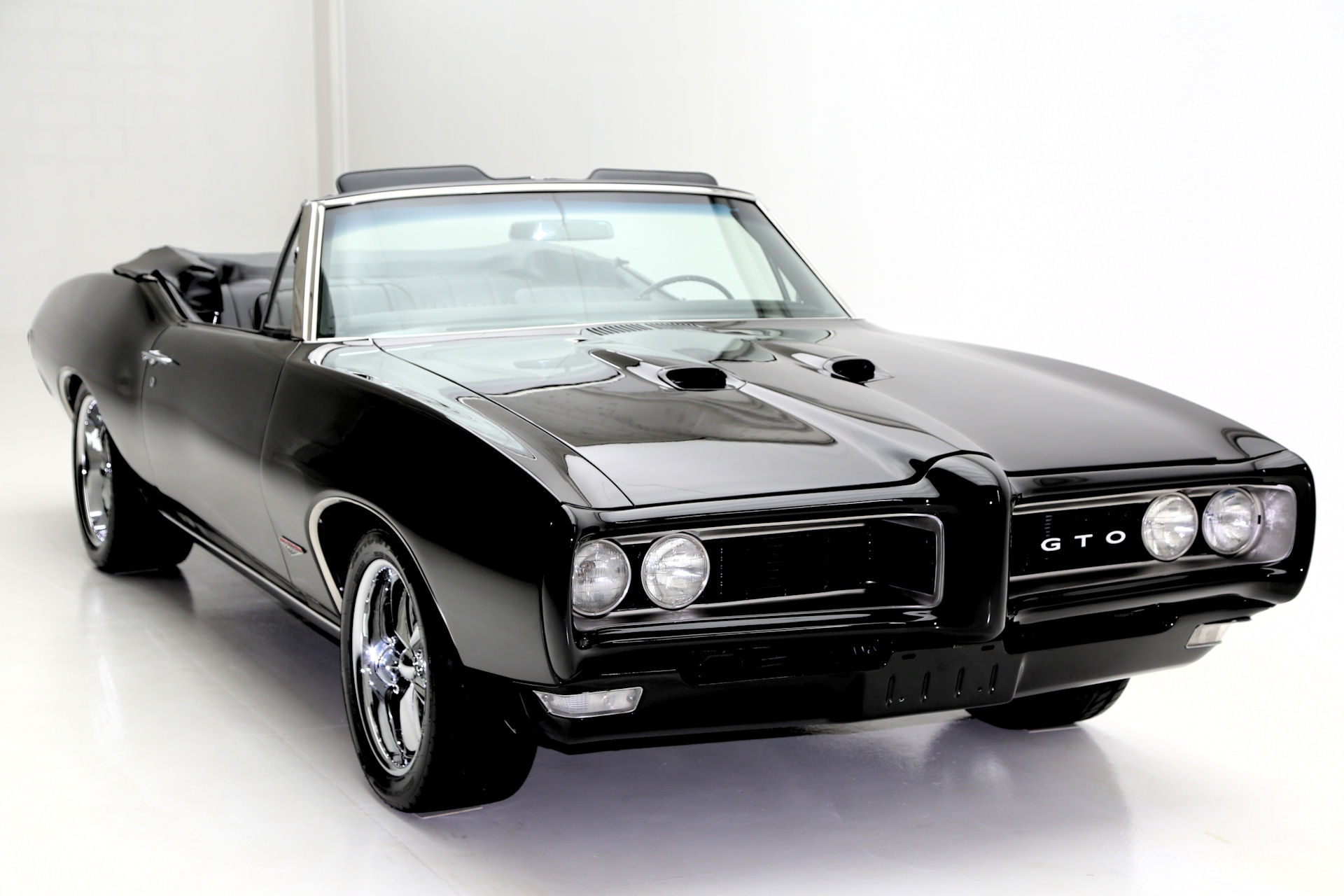 1968 Pontiac Tempest Convertible Triple Black