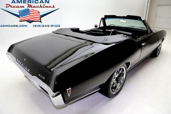 For Sale Used 1968 Pontiac Tempest convertible Triple Black | American Dream Machines Des Moines IA 50309