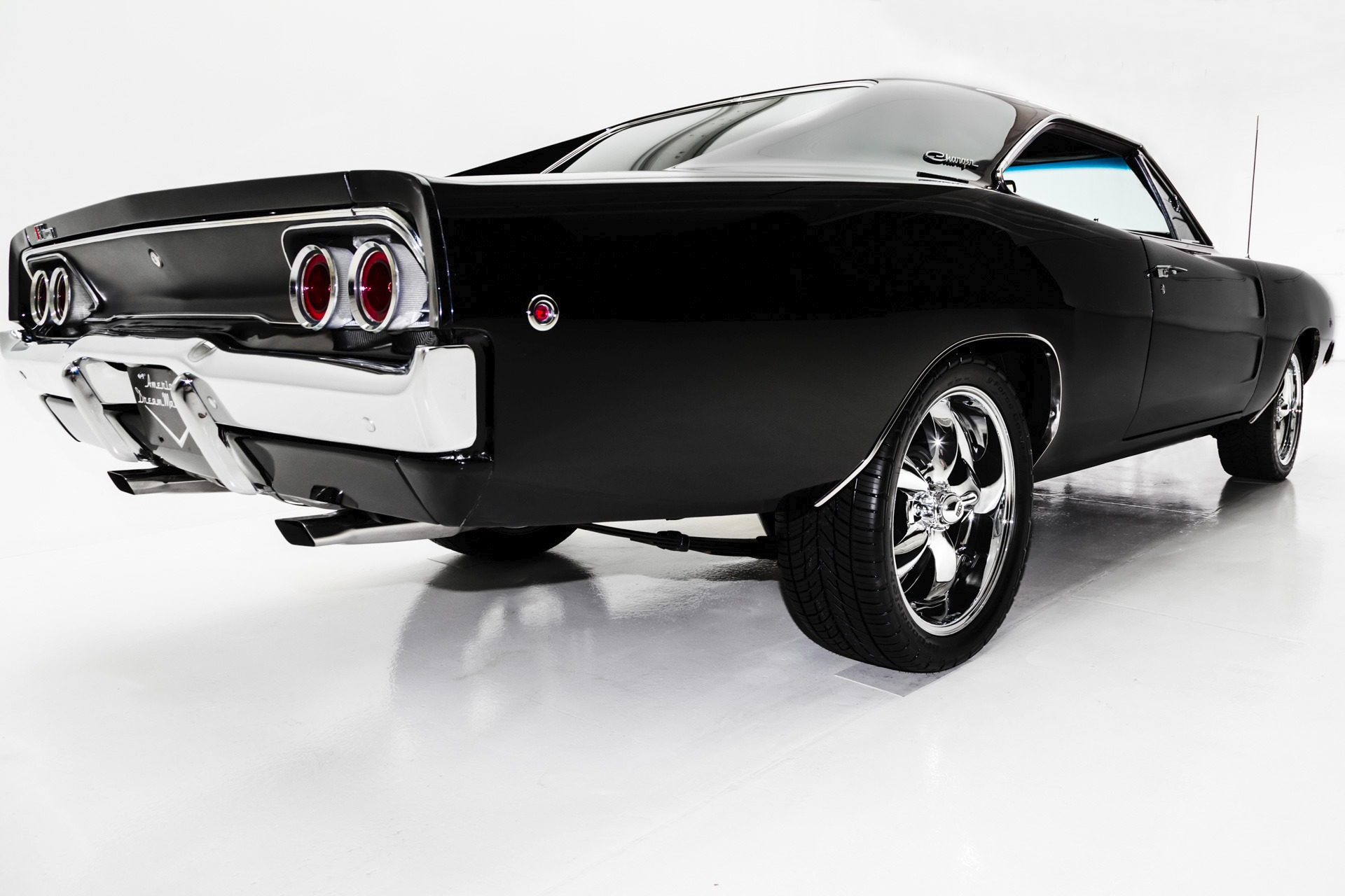 1968 Dodge Charger Black 440, Pistol Grip 4-Spd