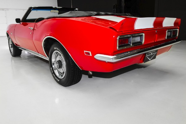 For Sale Used 1968 Chevrolet Camaro Convertible #'s Match | American Dream Machines Des Moines IA 50309