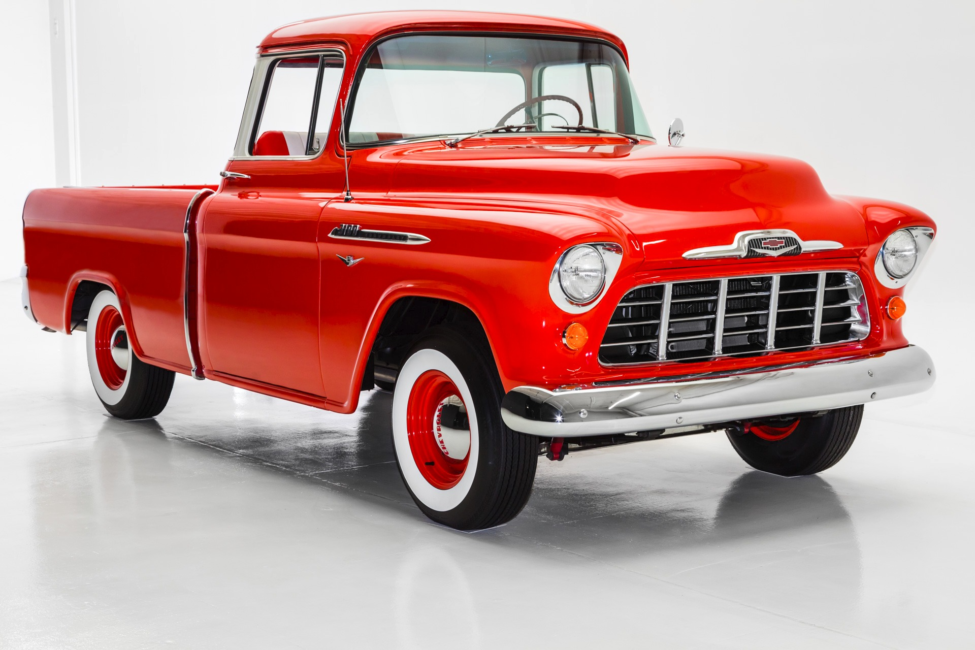 For Sale Used 1956 Chevrolet Pickup Cameo, V8 Auto, Frame Off | American Dream Machines Des Moines IA 50309