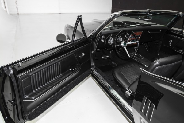 For Sale Used 1967 Pontiac Firebird Convertible Triple Black | American Dream Machines Des Moines IA 50309
