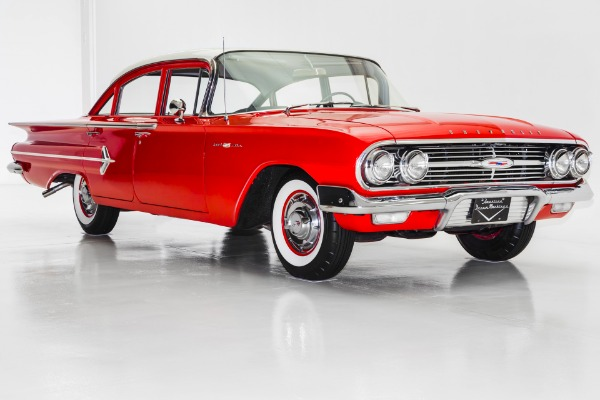 For Sale Used 1960 Chevrolet Bel Air Fresh Restoration Great Car!! | American Dream Machines Des Moines IA 50309
