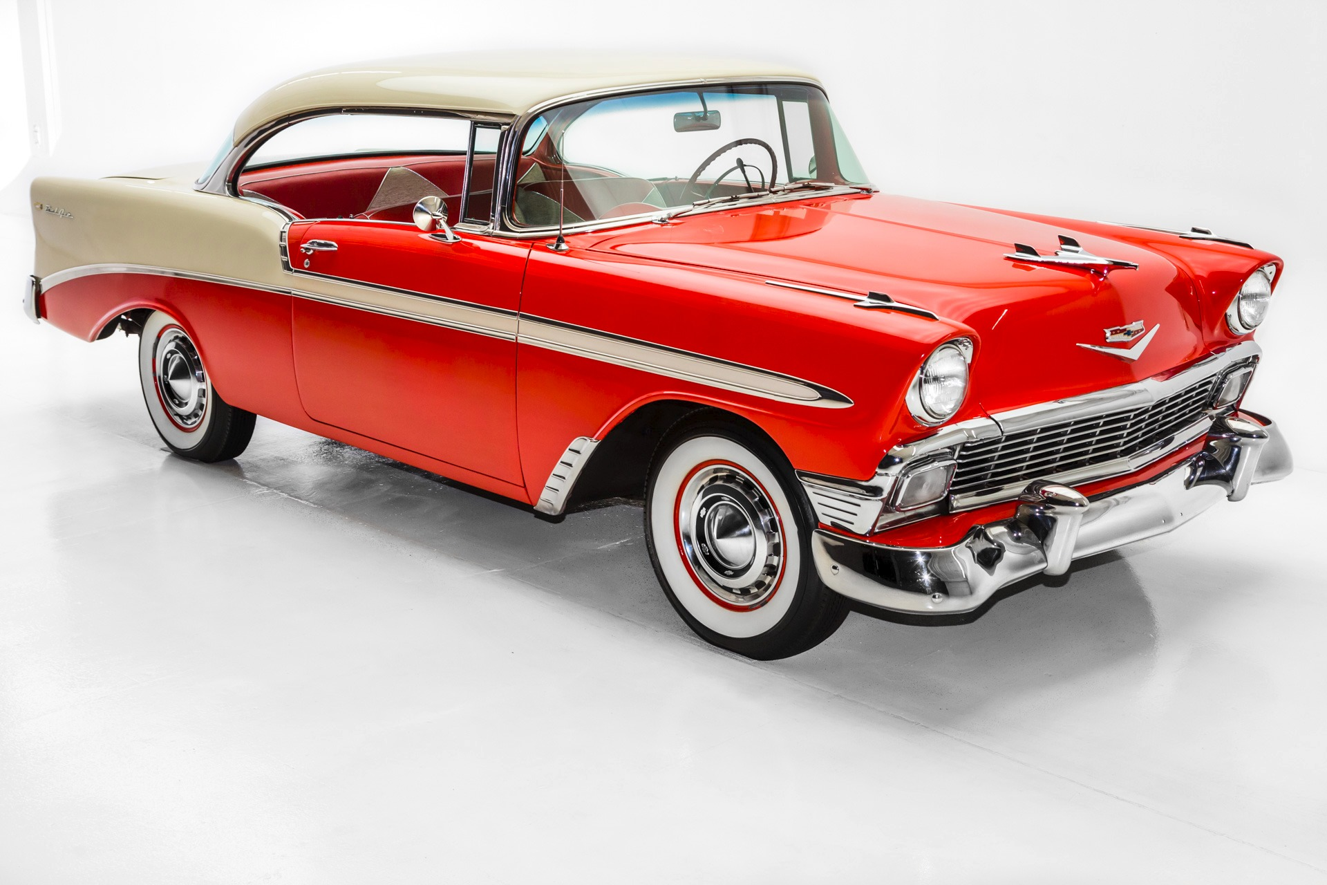 1956 chevrolet bel air v8 auto amazing car american