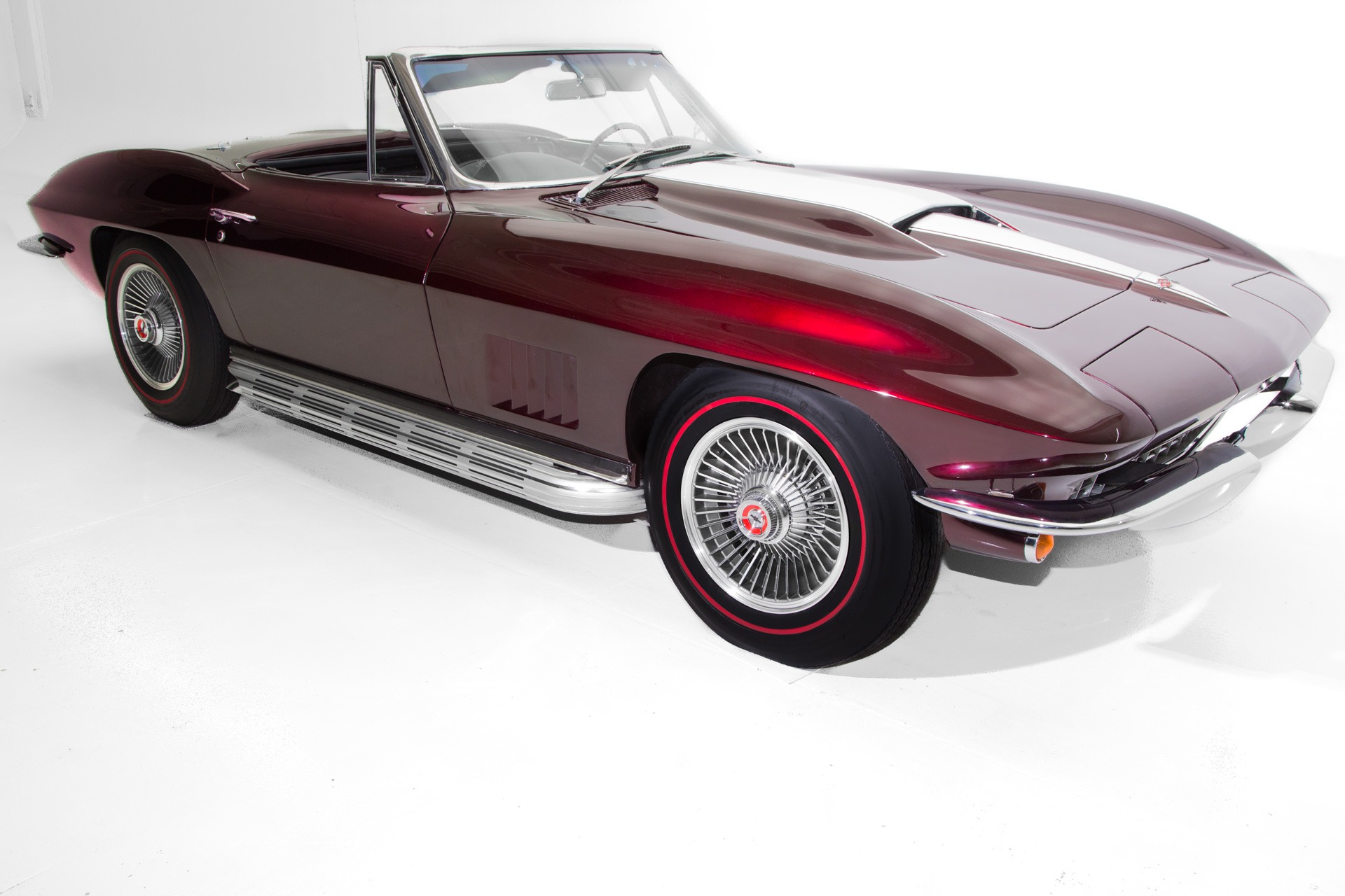 For Sale Used 1967 Chevrolet Corvette Brandywine 383 AC | American Dream Machines Des Moines IA 50309