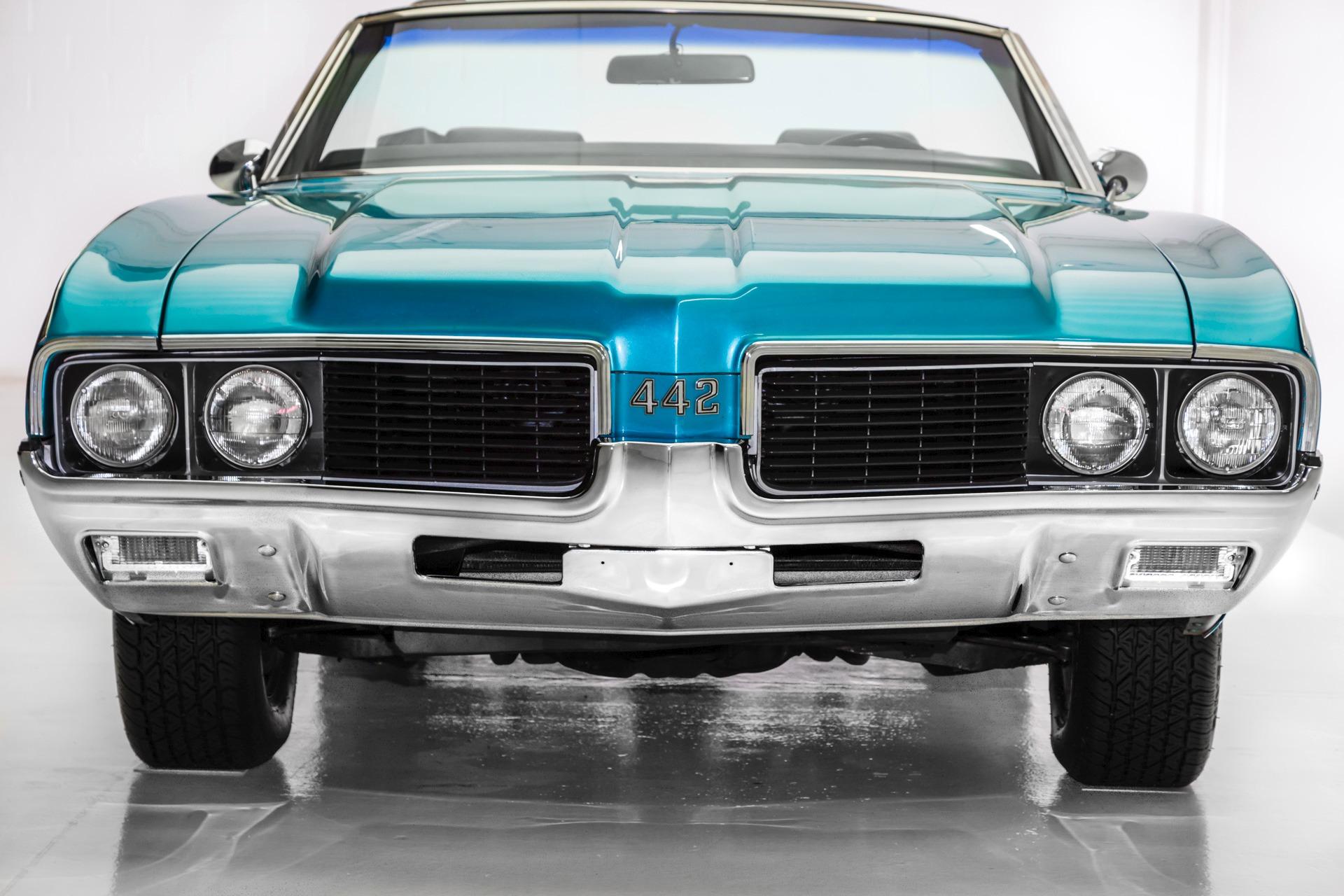 1969 Oldsmobile 442 Convertible 344 Vin 455