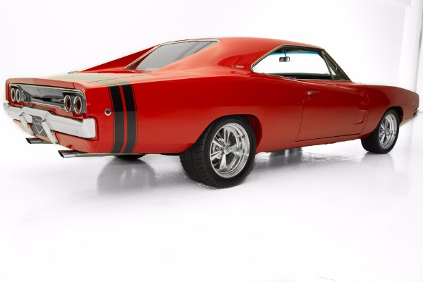 For Sale Used 1968 Dodge Charger Hemi 615hp Rotisserie Resto | American Dream Machines Des Moines IA 50309