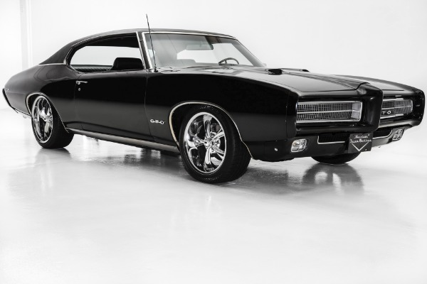 1969 Pontiac Gto Triple Black 400 4 Speed