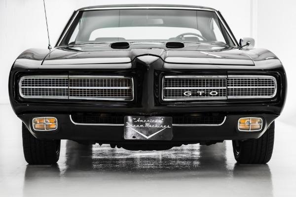 1969 Pontiac GTO Triple Black, 400 4-speed - American Dream Machines ...