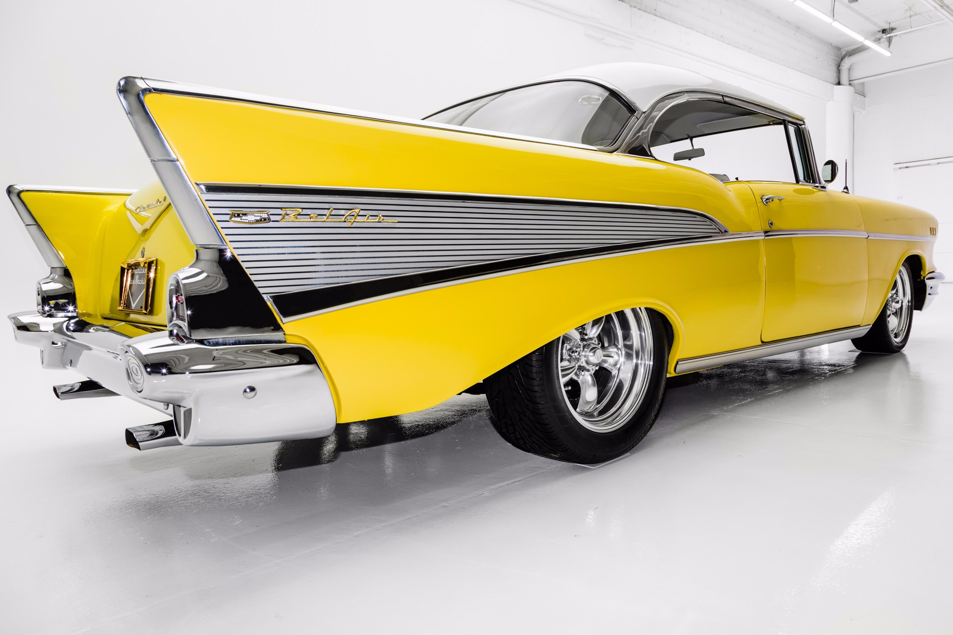 For Sale Used 1957 Chevrolet Bel Air ZZ4, 4-Speed, Disc Brakes | American Dream Machines Des Moines IA 50309