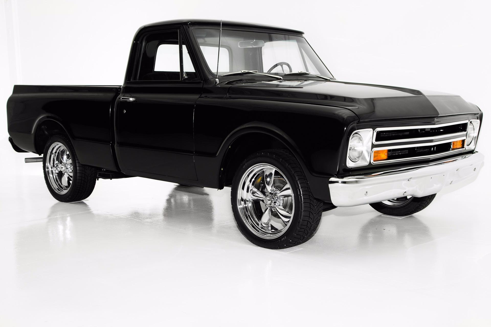 1967 Chevrolet Pickup Black C10 Frame Off