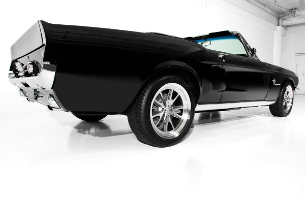 For Sale Used 1967 Ford Mustang Triple Black 347/480hp AC | American Dream Machines Des Moines IA 50309
