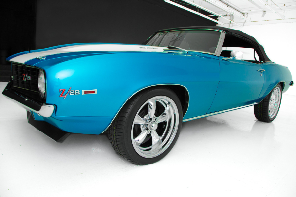 For Sale Used 1969 Chevrolet Camaro Convertible 383 4-Speed | American Dream Machines Des Moines IA 50309