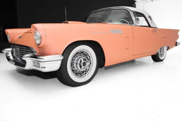For Sale Used 1957 Ford Thunderbird Coral,Frame-Off Loaded! | American Dream Machines Des Moines IA 50309