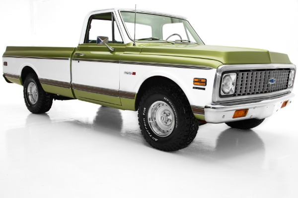 For Sale Used 1972 Chevrolet Pickup Cheyenne C10 Frame-off AC | American Dream Machines Des Moines IA 50309