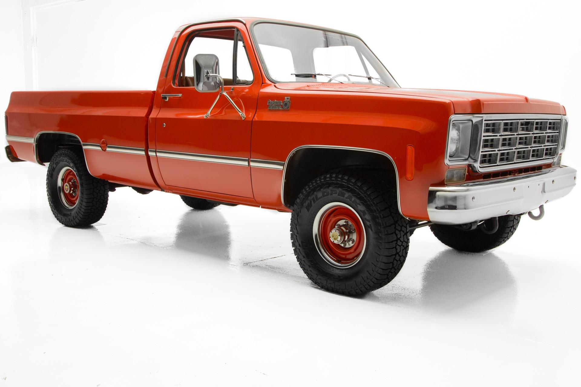 1977 chevrolet custom big red k10 4x4 4 spd american dream rh admcars com 1986 Chevrolet manual chevrolet c10 1977