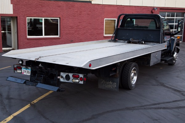 For Sale Used 2003 Chevrolet 5500 Black Rollback, Tow-truck, Flatbed  Duramax, Diesel, Aluminum Bed | American Dream Machines Des Moines IA 50309