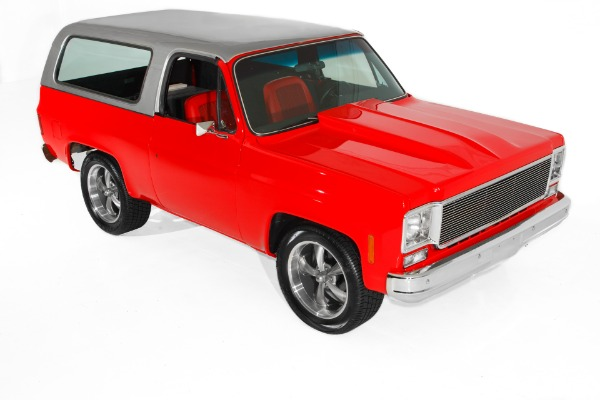 For Sale Used 1975 Chevrolet Blazer Rare 2WD Show Truck | American Dream Machines Des Moines IA 50309