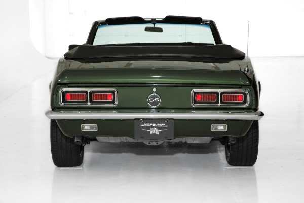 For Sale Used 1968 Chevrolet Camaro Midnight Green 4 Spd A/C | American Dream Machines Des Moines IA 50309