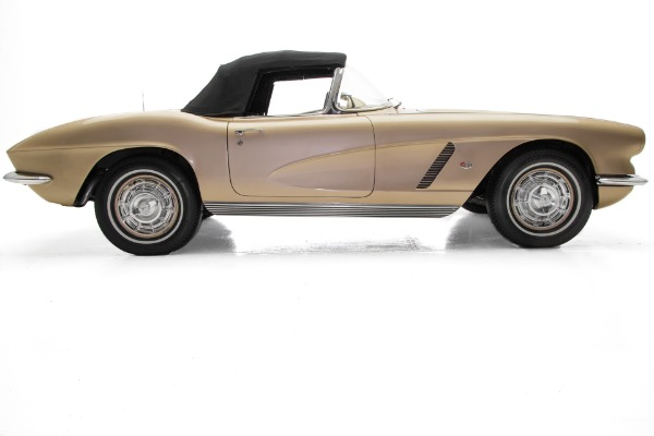 For Sale Used 1962 Chevrolet Corvette Fawn Champagne 2 Tops | American Dream Machines Des Moines IA 50309