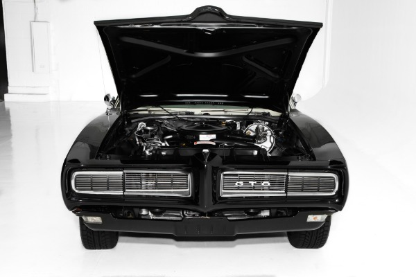 For Sale Used 1968 Pontiac GTO Black 400 Auto Judge Accents | American Dream Machines Des Moines IA 50309