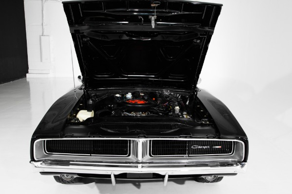 For Sale Used 1969 Dodge Charger Black 383 Big Block 4 speed | American Dream Machines Des Moines IA 50309
