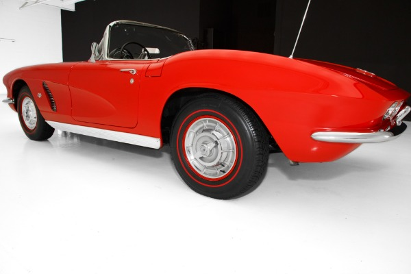 For Sale Used 1962 Chevrolet Corvette Red 327/400hp Frame-Off | American Dream Machines Des Moines IA 50309