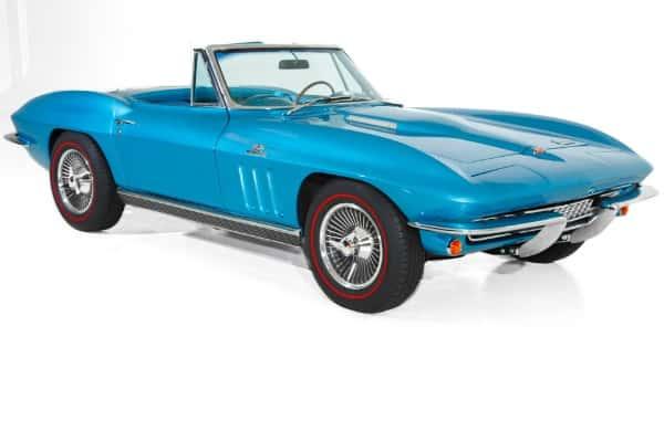 1966 Chevrolet Corvette Blue/Blue #'s 427/425