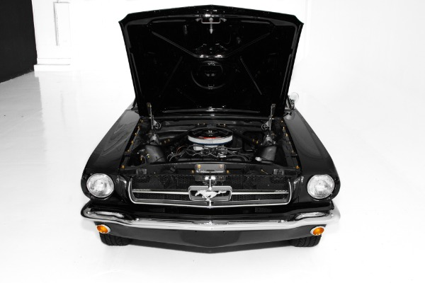 For Sale Used 1965 Ford Mustang Black & Red 289 Gorgeous! | American Dream Machines Des Moines IA 50309