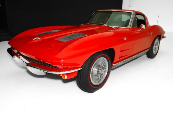For Sale Used 1963 Chevrolet Corvette Split Window Frame-Off | American Dream Machines Des Moines IA 50309