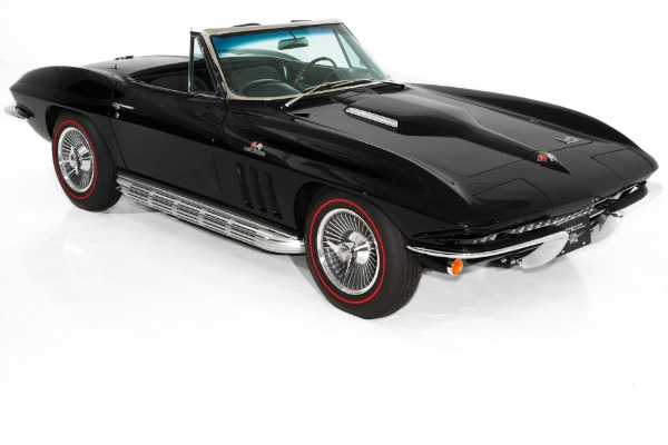 1966 Chevrolet Corvette Triple Black #'s Matching 427/425hp
