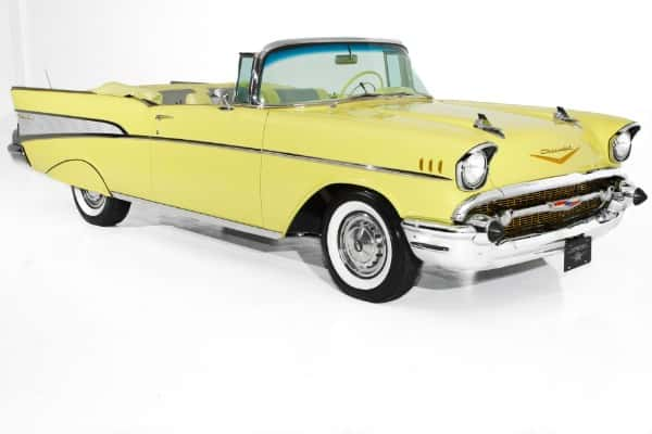 1957 Chevrolet Bel Air Convertible Frame-Off