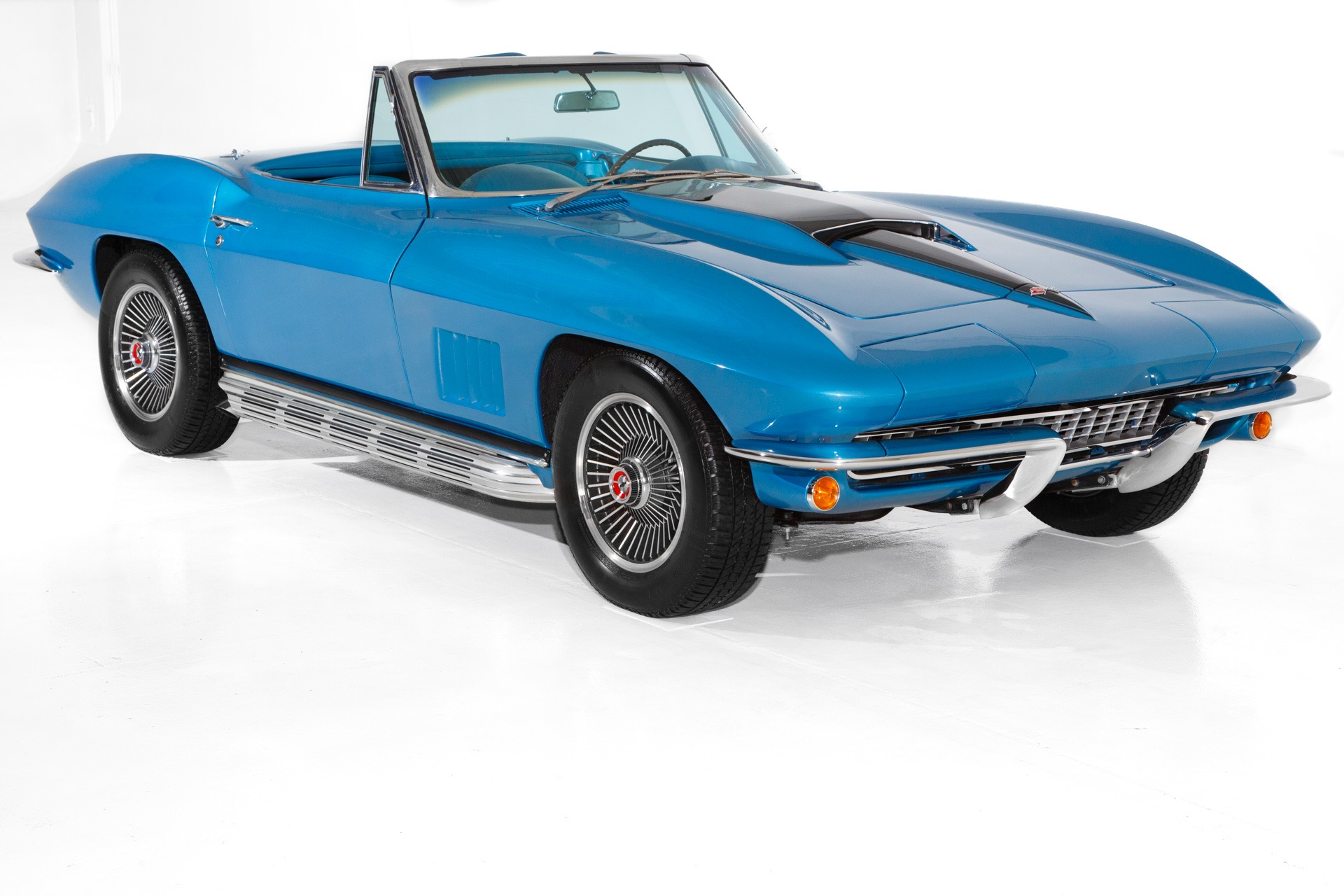 For Sale Used 1967 Chevrolet Corvette Blue 327/350 4-Speed | American Dream Machines Des Moines IA 50309