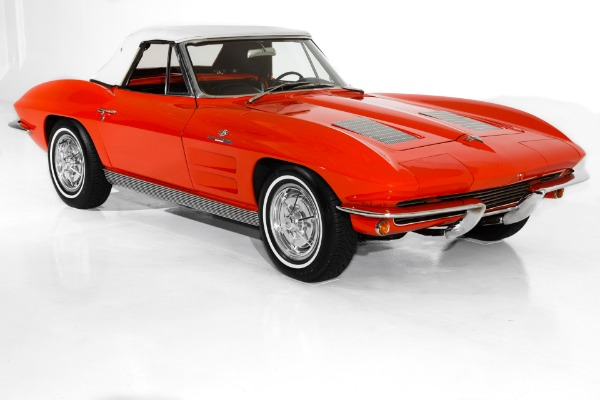 For Sale Used 1963 Chevrolet Corvette Fuelie 327/360, 2 Tops | American Dream Machines Des Moines IA 50309