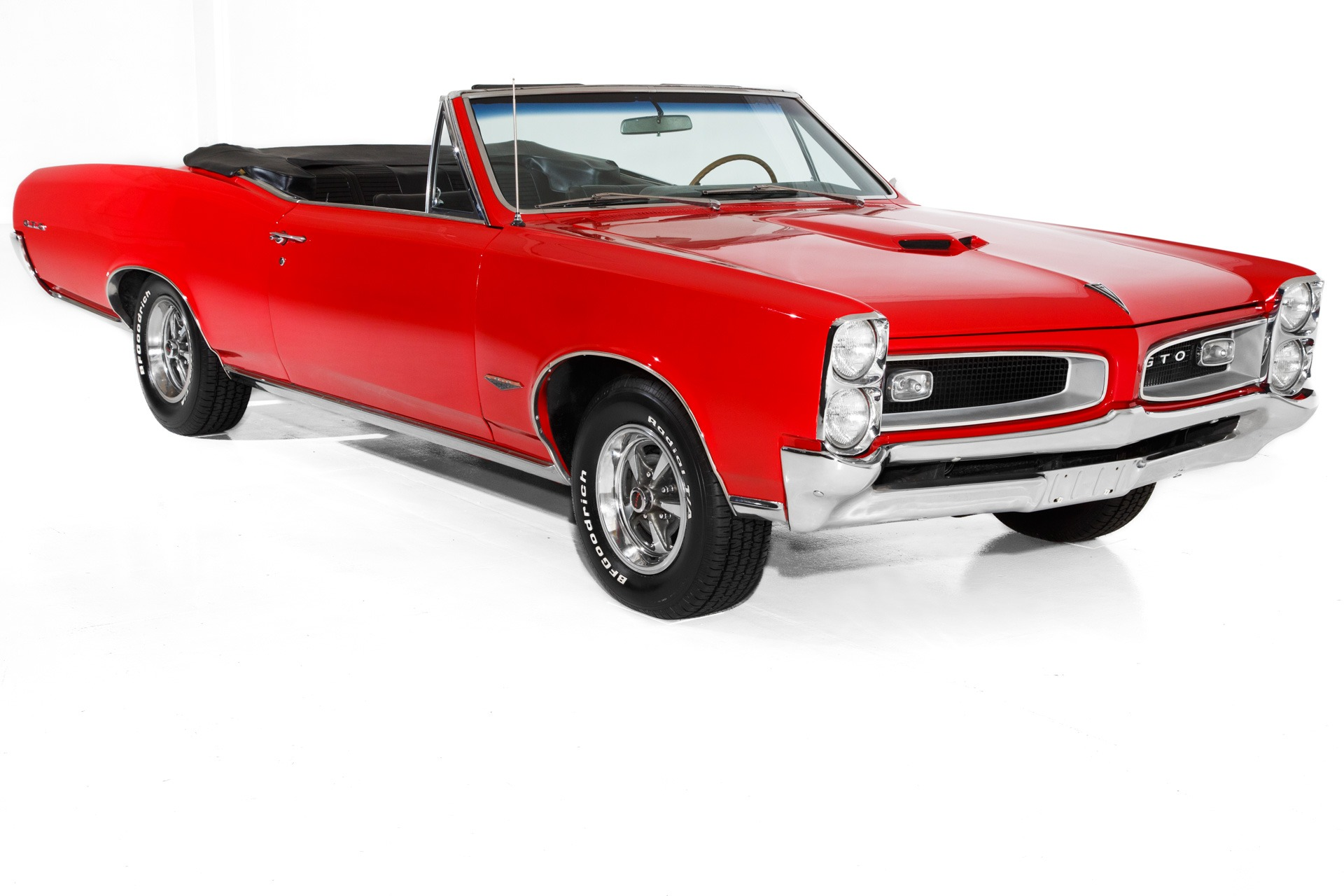 1966 Pontiac GTO Convertible 389 PS, PB, PHS