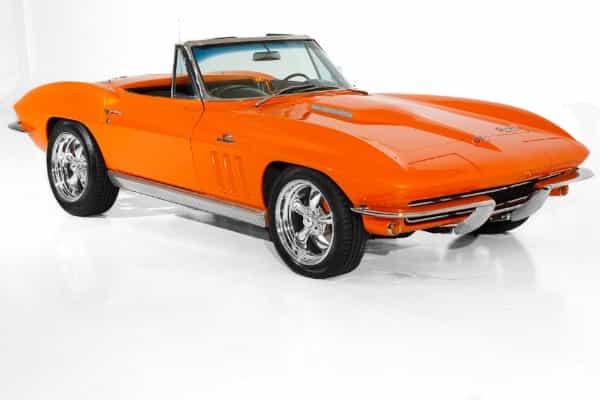 1966 Chevrolet Corvette Tangerine Dream ZZ502