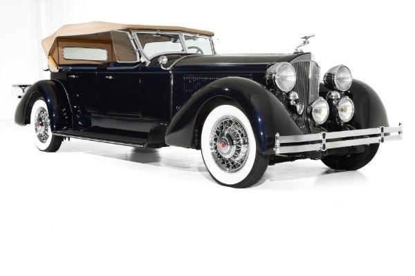 1930 Packard Custom Dual Cowl Phaeton