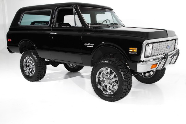 For Sale Used 1972 Chevrolet Blazer Houndstooth 4WD Auto AC | American Dream Machines Des Moines IA 50309