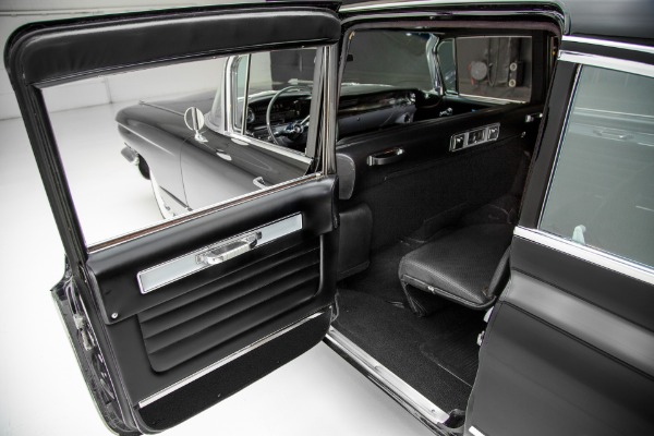 For Sale Used 1960 Cadillac Fleetwood Sinister Black Limo | American Dream Machines Des Moines IA 50309