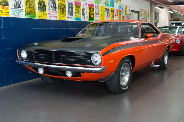 For Sale Used 1970 Plymouth Cuda AAR 340 Six Pack, Frame-Off | American Dream Machines Des Moines IA 50309