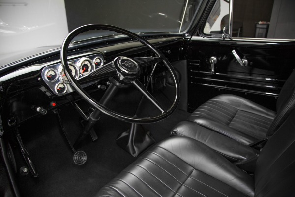 For Sale Used 1955 Ford Pickup F100 Black 302 Auto, Frame-Off | American Dream Machines Des Moines IA 50309