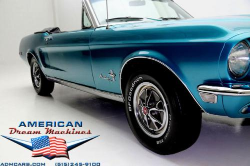 For Sale Used 1968 Ford Mustang Convertible convertible | American Dream Machines Des Moines IA 50309